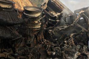Gia Lai: Tai nạn giao thông 2 người chết cháy