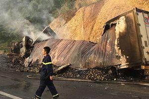 2 container đối đầu trên đèo Mang Yang, ít nhất 3 người tử vong