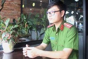 Thiếu úy Võ Chí Nhất với niềm đam mê văn chương