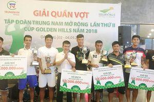 Giải quần vợt Trung Nam mở rộng lần thứ II tranh cúp Golden Hills 2018