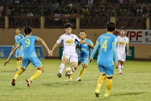 Vòng 7 V-League 2018: HAGL vuột mất chiến thắng trên sân Sanna Khánh Hòa