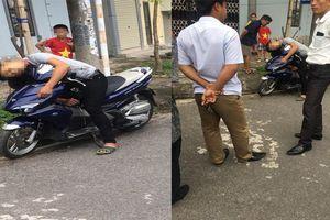 Bàng hoàng phát hiện nam thanh niên gục chết trên xe máy dựng ven đường