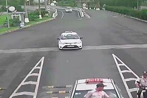 Thông tin mới vụ tài xế Taxi đâm trực diện nhân viên bảo vệ sân bay Nội Bài