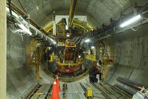 Nhà ga ngầm tuyến Metro TPHCM: Khẩn trương thi công, vượt khó