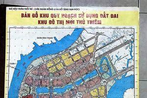 Người dân cung cấp bản sao bản đồ gốc Khu đô thị Thủ Thiêm