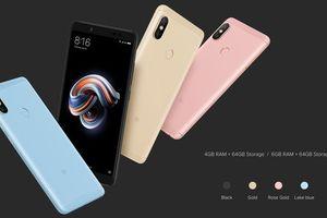 'Quái vật camera' tầm trung Redmi Note 5 sắp xuất hiện tại VN