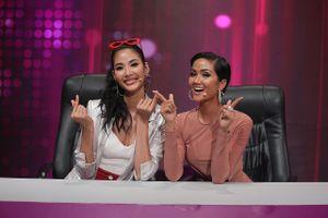 H'Hen Niê và Hoàng Thùy lần đầu khoe giọng hát trên sóng truyền hình
