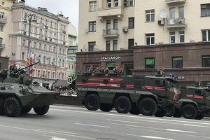 Nga: Tổng diễn tập trước lễ duyệt binh nhân ngày Chiến thắng 9/5 