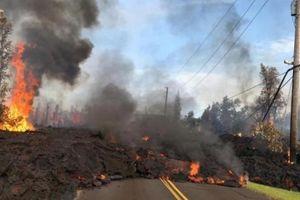 Khí độc và dung nham nóng hơn 1.000 độ tấn công Hawaii