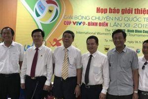 Giải bóng chuyền nữ quốc tế Cúp VTV9 - Bình Điền lần thứ 12 tổ chức ở Quảng Nam