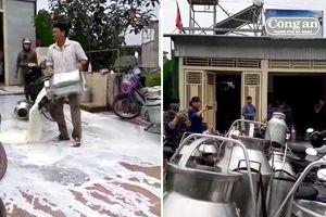 Giám đốc Nhà máy sữa Nghệ An lên tiếng về vụ người dân đổ sữa
