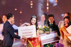 Hoa khôi Ngoại giao 2018 nhận giải thưởng hơn 400 triệu đồng