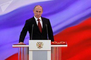Ông Putin chính thức tuyên thệ nhậm chức Tổng thống Nga nhiệm kỳ thứ 4