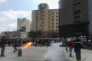 Công ty CP Đầu tư xây dựng Dân Dụng Hà Nội: Tích cực chủ động phòng chống cháy nổ, an toàn lao động