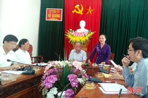 Tăng cường kiểm tra, giám sát trong Đảng tại Vũ Quang