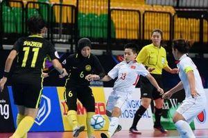 Việt Nam gặp Indonesia ở tứ kết giải futsal nữ châu Á 2018
