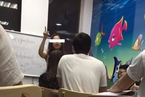 Giáo viên tiếng anh chửi học viên làm dậy sóng dư luận