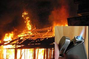 Bắt giữ đối tượng châm lửa đốt nhà vì không trộm cắp được tài sản