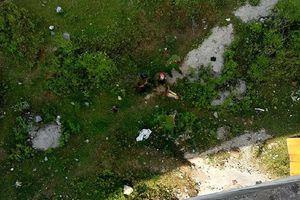 Phát hiện thi thể nam thanh niên dưới chân cầu Quảng Hóa