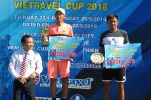 Vietnam F1 Futures - Vietravel Cup 2018: Lý Hoàng Nam giành ngôi Á quân