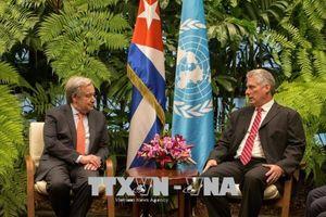 Tổng Thư ký LHQ thăm Cuba, dự cuộc họp của Ủy ban Kinh tế Mỹ Latinh và Caribe