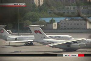 Máy bay nghi chở ông Kim Jong-un rời Trung Quốc