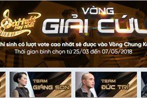 Gin Tuấn Kiệt và Tường Vy được 'giải cứu' để vào chung kết 'Bài hát yêu thích 2018'