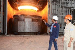 Cháy tại nhà máy thép Hòa Phát, 4 công nhân bị bỏng