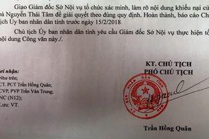 'Thi viên chức điểm cao vẫn trượt': Phó Chủ tịch huyện nhận sai sót