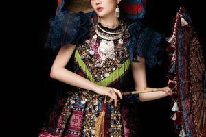 Bộ đồ 'Sơn nữ H'Mông' tại Nữ hoàng Du lịch Quốc tế