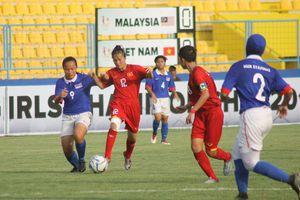 Việt Nam vào bán kết Giải Bóng đá U16 nữ Đông Nam Á năm 2018