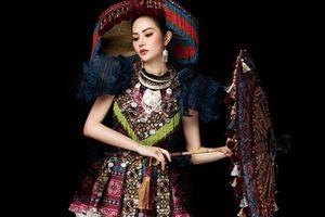 Diệu Linh mang trang phục 'Sơn nữ H'Mông' đến Miss Tourism Queen International 2018