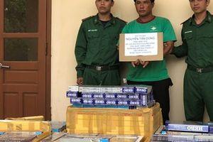 Hơn 6 giờ mật phục, lực lượng biên phòng Phú Quốc bắt quả tang 7 thùng hàng cấm