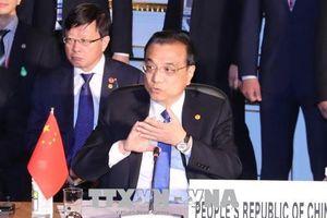 Thủ tướng Trung Quốc kêu gọi Nhật Bản và Hàn Quốc cùng đẩy nhanh đàm phán về FTA, RCEP