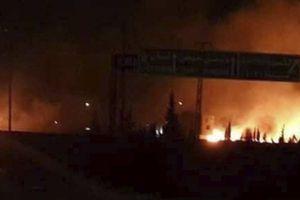 Syria: Israel bất ngờ không kích tên lửa vào Damacus ngay sau khi Mỹ từ bỏ thỏa thuận hạt nhân
