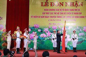 Phần thưởng lớn với lực lượng An ninh chính trị nội bộ CATP Hà Nội