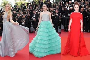 Phạm Băng Băng bỗng 'lép vế' trước hàng loạt người đẹp lộng lẫy tại Cannes 2018