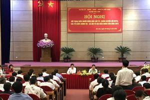 Lãnh đạo huyện Sóc Sơn đối thoại trực tiếp giữa người đứng đầu với nhân dân
