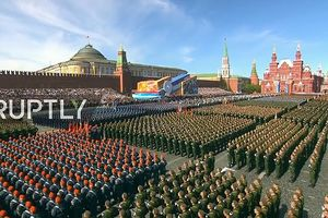 Nga duyệt binh rầm rộ trên Quảng trường Đỏ
