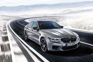 BMW M5 Competition 2018: sedan mạnh ngang siêu xe