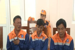 Tàu cá bị sóng đánh chìm, 03 ngư dân gặp nạn trên biển Vũng Tàu