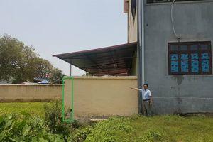 Bắc Ninh: Lùm xùm câu chuyện Trường mầm non Tân Lãng lấn chiếm đất của dân