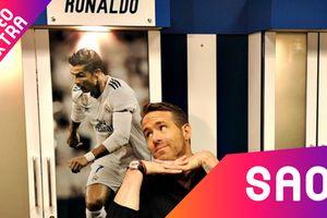 Siêu anh hùng 'lầy lội' Deadpool tự sướng tại nơi thay đồ của Ronaldo