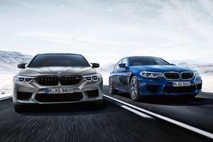 BMW M5 Competition 2019 ra mắt, hiệu năng ngang siêu xe