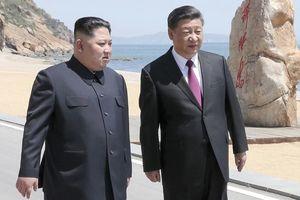 Ông Kim Jong-un bất ngờ đáp máy bay riêng tới Trung Quốc