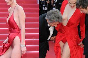 Những bộ váy gây sốc nhất trong lịch sử Cannes