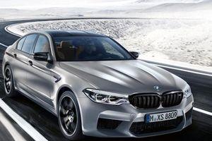 BMW ra mắt M5 phiên bản Competition 2018
