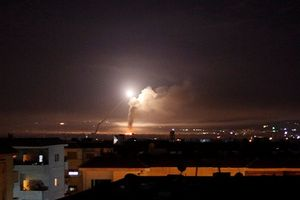 Công bố video Phòng không Syria bắn hạ tên lửa Israel