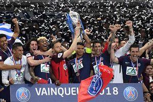 PSG thống lĩnh bóng đá Pháp