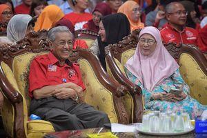 Bầu cử Hạ viện Malaysia: Cựu Thủ tướng Mahathir Mohamad trở lại cương vị ở tuổi 92